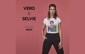Vero trägt Selvie
