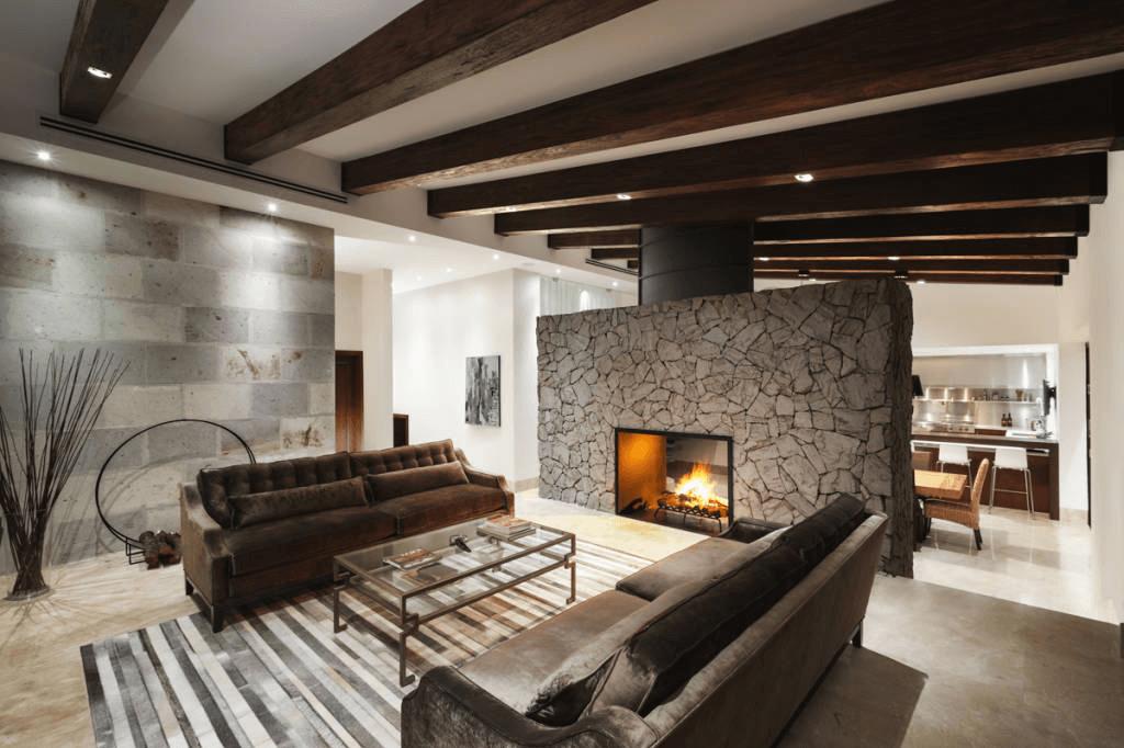 moderne wohnzimmereinrichtung. Black Bedroom Furniture Sets. Home Design Ideas